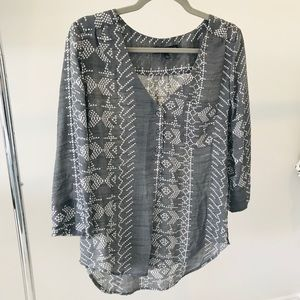 Fred David Tunic Top